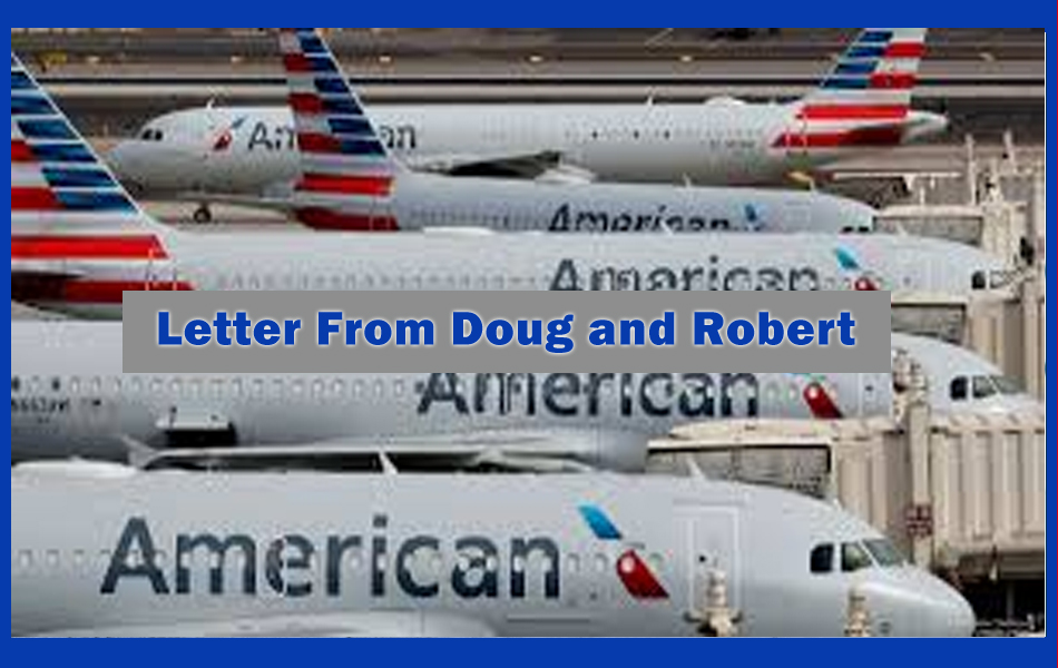 A letter from Doug and Robert